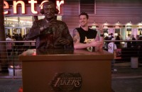 Hanging with Chick Hearn