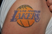 Peter Stein Lakers Tattoo